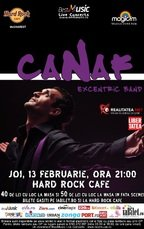Canaf & Excentric Band de Valentine's Day la Hard Rock Cafe