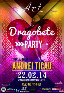 Dragobete Party w/ Andrei Ticau @ Art Cafe & Lounge