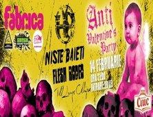 Anti Valentine's Day Party @ Club Fabrica