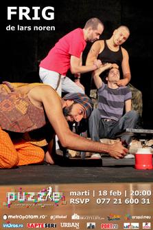 Piesa de teatru Frig (Cold) se joaca pe scena din Puzzle