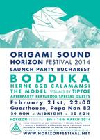 Origami Sound presents Horizon Festival Launch Party feat. Boddika