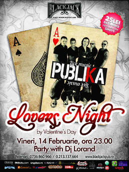 Publika Lovers Night @ Black Jack Pub