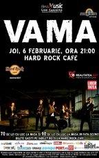 Concert Vama in Hard Rock Cafe