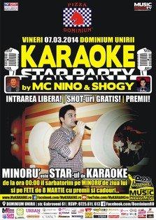 Karaoke Star Party: MC Nino & Shogy