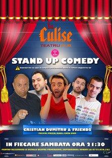 2 spectacole de Stand-Up Comedy @ In Culise Teatru Pub