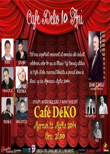 Cafe DeKO aniverseaza 10 ani