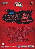 Funk Rock Hotel 10 @ Colectiv