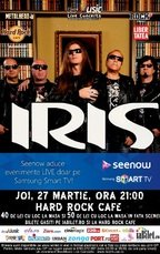 IRIS in concert la Hard Rock Cafe