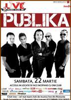 Concert PUBLIKA in Club Live