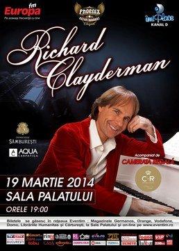 Richard Clayderman in concert la Sala Palatului
