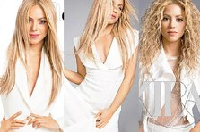 Shakira - senzationala in alb in Latina