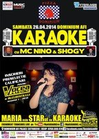 Karaoke Star Party cu MC NiNO, Shogy si Maria