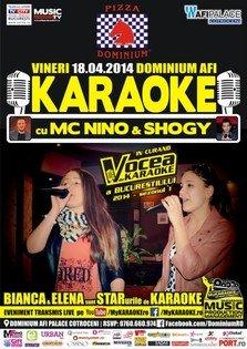 Karaoke Star Party cu MC NiNO & Shogy, Bianca si Elena