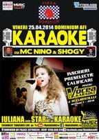 Karaoke Star Party cu MC NiNO, Shogy si Iuliana