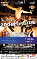 Ultimele locuri la concertul ZDOB si ZDUB din Hard Rock Cafe