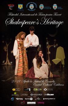 Festivalul International de Teatru pentru Tineret Shakespeare's Heritage, editia 2014
