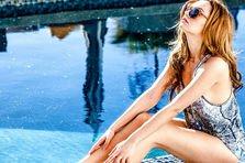Alexandra Stan - Thanks for leaving (poze filmari videoclip)