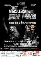Cristi Minculescu si Nutu Olteanu canta piese IRIS la Hard Rock Cafe