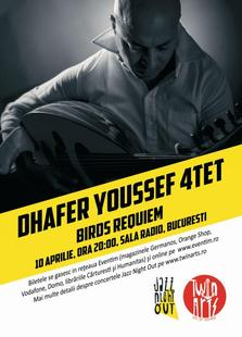 Jazz Night Out cu Dhafer Youssef 4tet in concert la Sala Radio