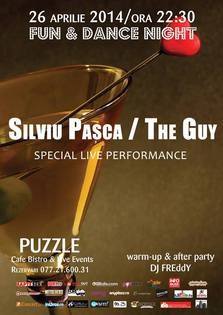 Concert Silviu Pasca – The Guy