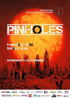 Noul single Pinholes se aude live in Question Mark