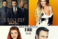 Concurs! Castiga 3 invitatii duble la concertul 3 Sud Est!