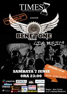 BENETONE Band Live in Times Pub