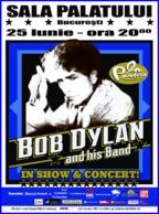 Concert Bob Dylan la Sala Palatului