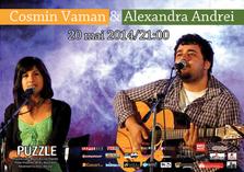 Concert Cosmin Vaman & Alexandra Andrei