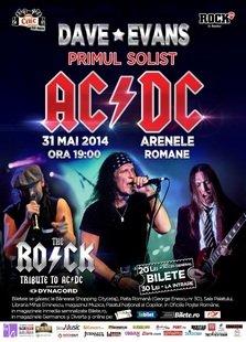 Dave Evans, primul solist AC/DC si The R.O.C.K @ Arenele Romane