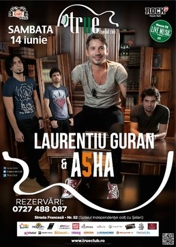 Laurentiu Guran & ASHA @ True Club