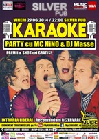 Karaoke Party by Mc NiNO & DJ Masse @ Silver Pub