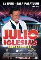 Julio Iglesias in concert la Sala Palatului