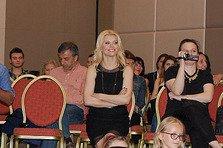 Loredana a susţinut primul workshop pentru şcoala sa de muzică