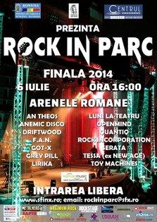 Finala Festivalului Rock in Parc 2014
