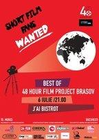 Proiectie Best of 48 Hour Film Project Brasov @ J'ai Bistrot Bucuresti