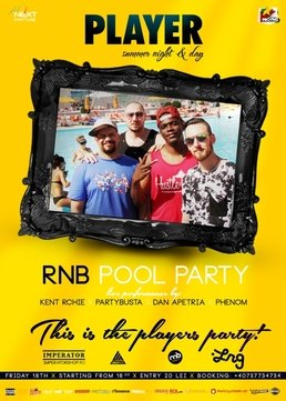 RnB Pool Party la Player Summer Club