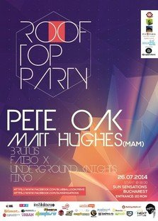 ROOFTOP PARTY by Blue Balloon & Sun Sensations