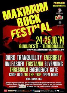 Maximum Rock Festival 2014 @ Turbohalle