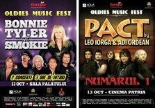Bonnie Tyler, Smokie si Leo Iorga (Pact) in concert la Oldies Music Fest