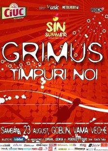 Grimus si Timpuri Noi canta la Sin Summer