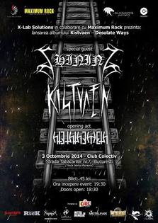 Kistvaen - Desolate Ways - album release party