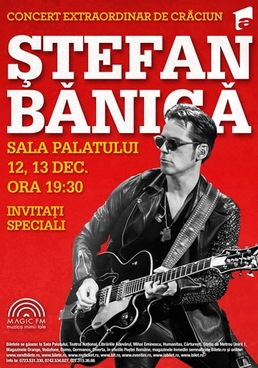 Stefan Banica, concert extraordinar de Craciun 2014