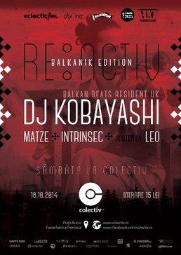 Kobayashi, DJ rezident BalkanBeats London vine in Colectiv