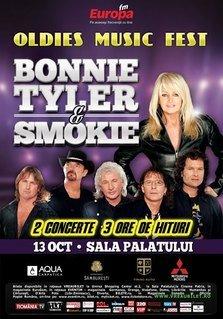 Doua categorii de bilete epuizate pentru concertele Bonnie Tyler si Smokie
