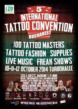 International Tattoo Convention Bucharest 2014 @ Turbohalle
