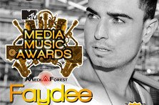 Faydee canta joi seara la Media Music Awards 2014!