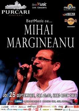 Mihai Margineanu in concert la Hard Rock Cafe