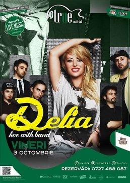 Concert Delia live cu band in True Club