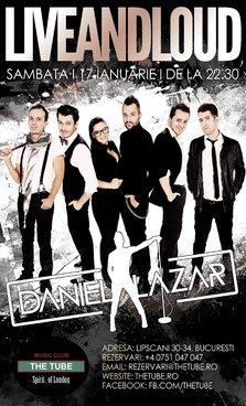 "Turneul Indoor ""Live & Loud"" al lui Daniel Lazar continua la The Tube"